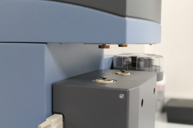 TA Instruments Dynamic Vapour Sorption (DVS) in Upperton's R&D Analytical Lab