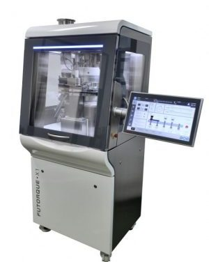 Futorque X-1 Tablet Press has increased Upperton's Tabletting Capabilities, see us at CPhI Wolrdwide for further information