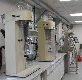 Upperton's R&D Spray Drying Lab, containing Buchi B290s and a ProCepT 4M8-TriX